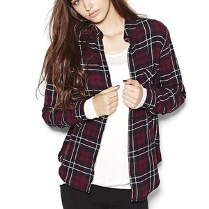 Garage boyfriend flannel